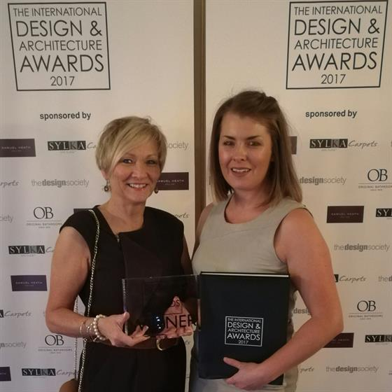 """Featured image for """"Hampton Conservatories have won the coveted International Design & Architectural Award 2017"""""""