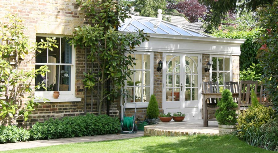 """Featured image for """"Amazing wooden conservatories for all types of London home"""""""